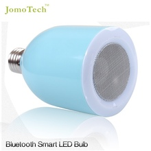 2015 new innovative led lamps bluetooth led speaker smart lighting system control