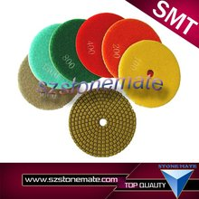 Premium 4 inch diamond polishing pad granite polishing pads