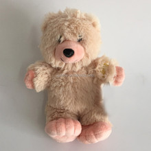 lifelike plush bear toy ,cute plush teddy bear toy , stuffed plush bear teddy