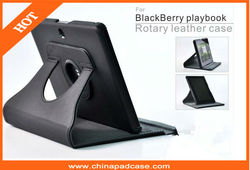 360 degree rotating case HD screen protector for Blackberry playbook