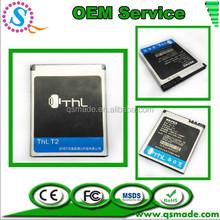 OEM High Quality 1250mAh For THL T2 Batteria Batterij AKKU