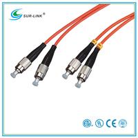 Optic Fiber Cable Patch Cord FC/PC Multi Mode 62.5/125 Duplex