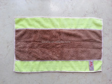 M-604 2015 personalized design plain dyed microfiber cleaning towel cheap wholesale mop cloth