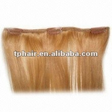 100% human hair extensions/Clip on hair extension