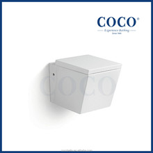 COCO KC5001 square p-trap 180mm roughing-in wall hung toilet parts