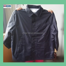 Outdoor Polyester Pongee Heat Protection Motorcycle Rain Jacket