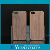 Original for apple iPhone 5 5s with real natural bamboo /wood case + pc protective wooden case cover