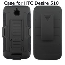 Rugged Kickstand Hybrid Case Mobile Phone Case for HTC Desire 510