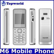 M6 Mini Mobile Phone Dual sim card Quad band Phone X707