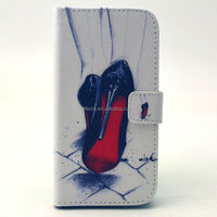 Wholesale new arrival wallet pu leather case for samsung galaxy s4 i9500