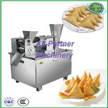 Chinese automatic multi-function dumplings making machine supply curry puff making machine
