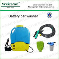 (84538) Pressure 12v portable handy powerful trolley car washer rechargeable