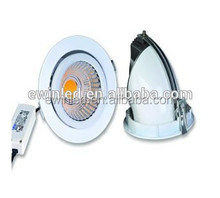 Factory price ! cut size 90mm Rotatable led downlight at 10w 15w 26w high brightness 85 lm/w