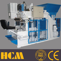 machinery for small industries QMY12-15 egg laying cement paving block making machines