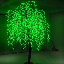 2015 outdoor led christmas Cherry tree for outdoor party /wedding decoration