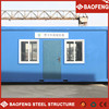 easy unloading fiberglass flat roof panel container house