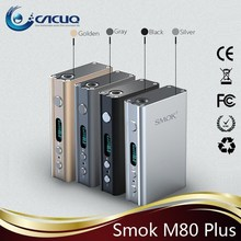 Hottest and Newest built-in dual 18650 box mod smok xpro m80 plus 2015 new e cigarette battery