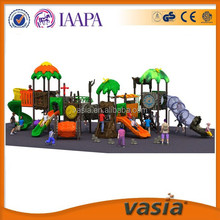 Leader manufacturer factory price standard costomized kid outdoor playground equipment with One-stop Solution