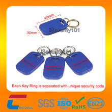 13.56Mhz TK4100 ABS key fob NFC key tags special offer