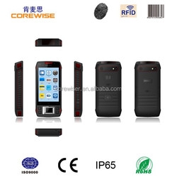 Handhold NFC tablet pc,Android OS,Qualcomm CPU,barcode scanner,fingerprint,ID reader,PSAM,HF RFID,contact IC card,OEM