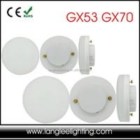 GX53 GX70 LED Lamp Cabinet Light Bulb 230V High Quality Plastic