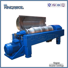 Model PDC China Machinery Sludge Dewatering Soya Oil Decanter Centrifuge