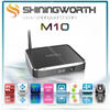 Metal housing Amlogic S812 quad core Android 4.4 kitkat M10 MXQ S812 TV BOX 2GB ram 8GB rom KODI full loaded TV BOX