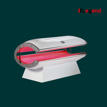 hot sale 28pcs UV lamps collagen tanning bed with red light therapy tanning bed