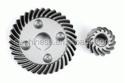 SS304 SS316 Stainless Steel small quantity CNC Machining impeller