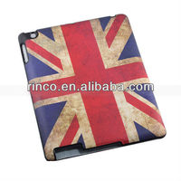 New British UK Flag Leather Hard Case Skin with Cover Flip for Apple iPad 2 3 4
