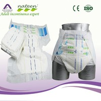 High absorbency disposable diaper for adult
