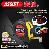 Assist pipe diameter measuring tool balloon measurement 3m 5m 7m steel tape measure of abs case