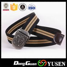 New design custom canvas belts for men