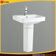 Fashion Style Wash Hand Basin with Pedestal