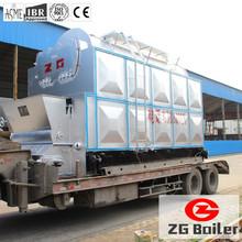 8 ton wood fired steam generator boiler