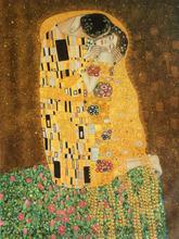 Gustav Klimt The Kiss Art Reproduction Canvas Oil Painitng Home Wall Art Interior Decoration