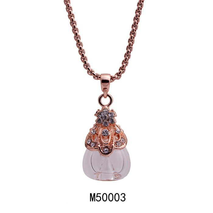 2015 High Quality Crystal Diamond Jewelry Necklac Perfume ...