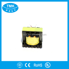 Small Single Phase PCB Mounting ee/ ei /ef/eer/efd/er/epc/ui/ci/ep/rm series horizontal high voltage high frequency transformer
