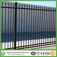 Factory supply cheap wrought iron fence panels for sale / decorative cheap wrought iron fence panels for sale
