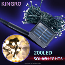 Solar Christmas Lights 72.17ft 22m 200LED Solar Fairy String Lights for Outdoor, Gardens, ,Wedding, Christmas Party, Waterproof