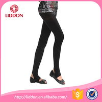 Ladies always loved sexy black custom 80D fitness women leggings