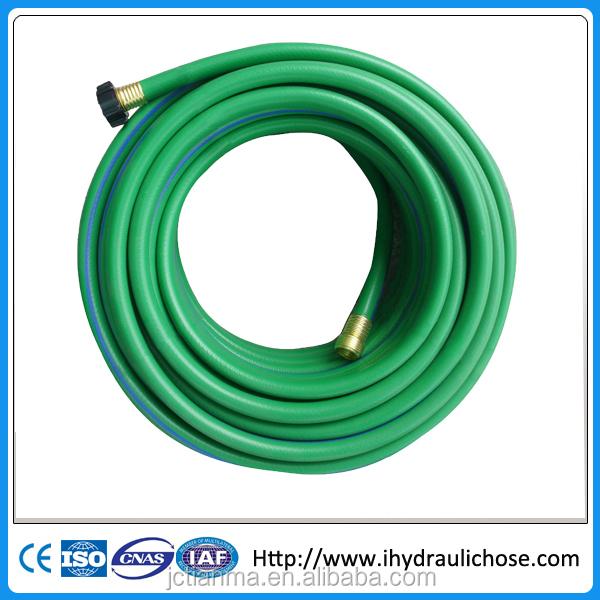 Pvc yellow fiber braided high pressure spray hose buy