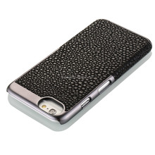 NCVM leather mobile phone case for Iphone 6, pearl fish pattern