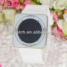 GH-380 watch wrap watch wooden fasion children silicone LED china import watches brand smart watch with heart rate monitor