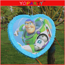 festival party carton heart shaped princess car super mouse pinata for kids adult desogm or wedding
