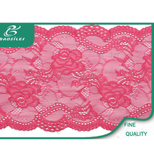 Top selling high quality tatting lace trim rose guipure red lace fabric for mother of the bride lace dresses with jacket