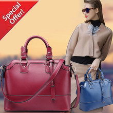 New customer enjoy 15% discount lady fashion genuine leather tote bag