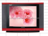 Rebekah hot selling 17 inch CRT TV/best price for color TV/ Television in India/ 17A8