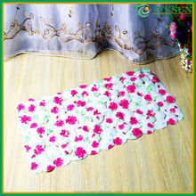 The latest fashion personalized high quality Custom size printed toilet shower mat