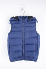 Boys Hoodie Sleeveless Heat Pad Sports Vest